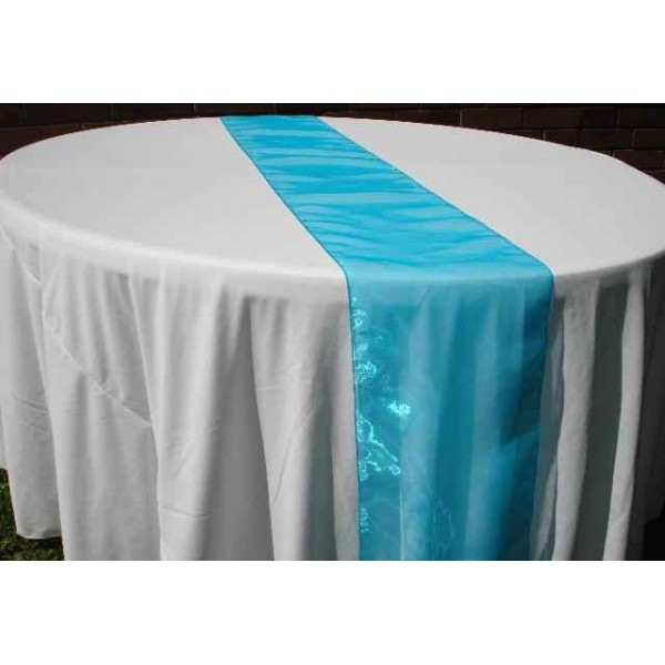 Chemin de table organza final touch - Chemin de table organza pas cher ...