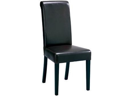 Chaise haute rembourrée